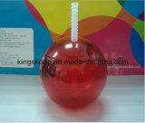 BPA Free Plastic Mug Creative Drinks Cup von Plastic Straw Cup