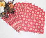 クリスマスの人の食品等級の印刷されたカスタム紙ナプキン