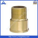 """guarnición de cobre amarillo del conector masculino de la extensión del 1/2 """" (YD-6011)"""