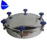 Sanitaire Dekking 150X250mm van het Mangat van de Bodem van het Roestvrij staal Vierkante