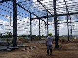 군 사용 (KXD-95)를 위한 Prefabricated 가벼운 강철 구조물 건물