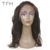 Venda por grosso 360 Rendas com molhos Frontal 9A Virgem Brasileira Hair Cabelo humano tampas com cabelo do bebé