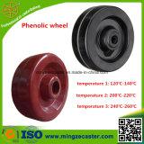 Phenoplastisches Fußrollen-Hochtemperaturrad