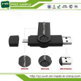 Цветастый классицистический привод вспышки USB шарнирного соединения с логосом