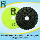Пусковые площадки диаманта Romatools полируя для влажной пользы