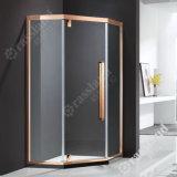 G06z21L comerciano la doccia all'ingrosso personalizzata della stanza da bagno dell'hotel di vetro Tempered di prezzi competitivi