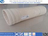 Custodia di filtro non tessuta del sacchetto filtro di Aramid per l'accumulazione di polvere con il campione libero