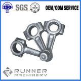 Forja de acero modificada para requisitos particulares de la precisión de Rod del conector con la certificación de la ISO