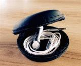 estereofonia del metal de 3.5m m en el auricular atado con alambre oído de Earbud con magnético