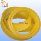 Material PU Burlete Artículo cinturón industrial de rodillo tipo poliuretano PU colágeno superficie de material