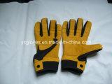 De handschoen-Koe van Weigth Opheffende de handschoen-Veiligheid van het Leer Werkende handschoen-Leer Handschoen