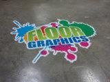 Autoadesivi grafici del vinile della pellicola del pavimento caldo di vendita per la pubblicità della stampa