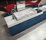Раковина мрамора сосуда тазика естественной мраморный раковины камня постамента итальянская для ванной комнаты