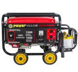 Dispositivo d'avviamento di ritrazione del generatore di alta qualità di potere Zh2500 168f 2kw/kVA di Genour