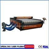 De grote Scherpe Machine van de Laser van Co2 van de Doek van het Kledingstuk van de Stof van 2000*3000mm