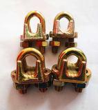 Clips malléables de câble métallique du type a