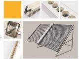 Colector solar de vácuo para aquecimento de piscinas