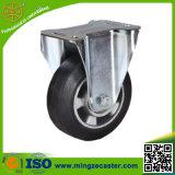 Aluminiumkern-Gummifußrollen-Räder