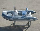 [أقولند] [11فيت] [3.3م] [فيبرغلسّ] صلبة قابل للنفخ يصطاد /Rescue/River [موتور بوأت] ([ريب330])