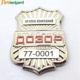 Distintivo molle personalizzato della polizia dello smalto