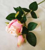 Flores artificiales flores de seda verdadero toque para la decoración del hogar