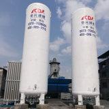 液体酸素の窒素またはアルゴンのガスの貯蔵タンク