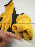 """С покрытием из латекса """"мятым"""" эффектом механик перчатки"""