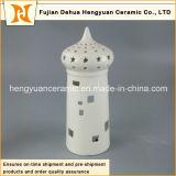 Casa forma de cerámica Candle Holder para el Islam Decoración