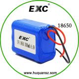 Li-íon recarregável 3.7V 18650 de Battery Li-no Li-íon Battery Pack de Battery Pack Custom