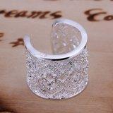 925 보석 은 도금된 형식 보석, 삽입물 다중 심혼 반지