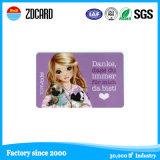 주문을 받아서 만들어진 플라스틱 ID 카드, PVC ID 카드, 명함, 명확한 카드