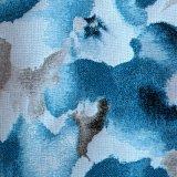 Tela do sofá de Upholstery de matéria têxtil do jacquard do projeto da flor