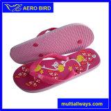 Милые Flops Flip тапочки печати цветков пляжа лета девушок (13L051)