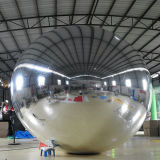 屋外展覧会のための最も新しく膨脹可能な装飾ミラーの球