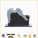 Headstone e Memeorial del granito con i doppi angeli