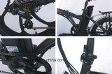 Сплава электрический складной велосипед 6 Скорость велосипеда аккумуляторной батареи