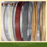 Color sólido de PVC bandas de borde para perfiles de muebles de oficina