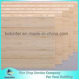 madeira compensada de bambu natural do bambu do painel da placa de bambu do vertical de 20mm