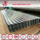 Strato d'acciaio ondulato laminato a freddo del tetto dello zinco