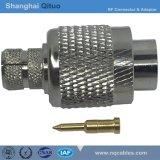 Ficha RF TNC macho reto para-50-5Syv Microstrip cravar u, 5dfbu (CNC-j-C-5D)