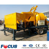 Tipo facoltativo betoniera mobile diesel Pieno-Idraulica elettrica di potere con la pompa