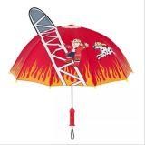 漫画3D雨傘のかわいい女の子の男の子のポップアップ耳のドームの傘