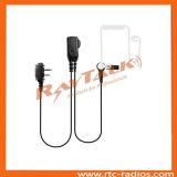 Tube d'air talkie walkie écouteur pour l'ICOM IC-F3GS/IC-F4GT/IC-F11/IC-F14