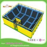 Sosta commerciale professionale durevole del trampolino con il pozzo della gomma piuma per gli adulti