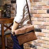 Novo Saco em pele de ombro para homens a linga Crossbody Bags Maleta Messenger saco de mão