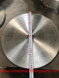 Kanzo 700mm*4*100 Hoja de sierra de acero de manganeso/hoja de sierra de fricción para el corte de acero al carbono y Acero Inoxidable