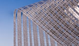 Внешняя алюминиевая сеть ткани экрана тени для парника