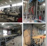 Chaîne de production de panneau de particules de roseau de matériau avancé