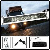 Nuova visualizzazione di LED mobile programmabile su ordinazione dell'automobile del segno della visualizzazione P7.62-8X80 LED dell'automobile del segno di Thinness LED di stile