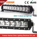 50W de 11,5 pouces unique Slim barre lumineuse à LED de conduite pour les SUV ATV Offroad (GT3530-50W)